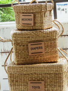 Baby Basket Set of 3