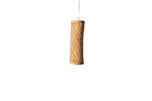 Bamboo Fiber Wall Hanging lamp