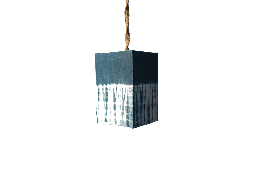 Indigo Natural Dye Lamp