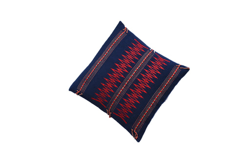 Midnight Blue Ruby Cushion Cover
