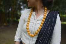 Load image into Gallery viewer, Tussar Beads Neck-piece