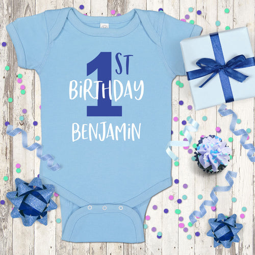New 1st Birthday Onesies