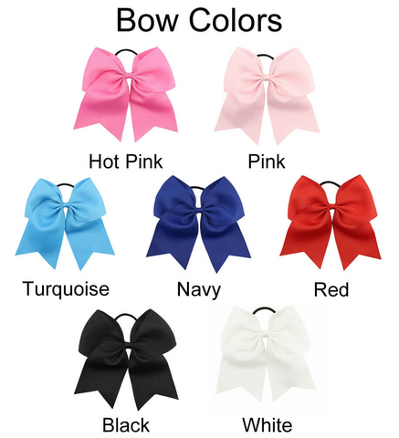 Image of Large Monogrammed Bow