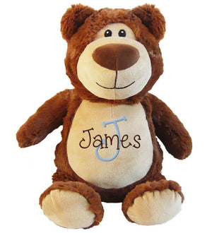 Bear with Name & Initial - Personalized Babies