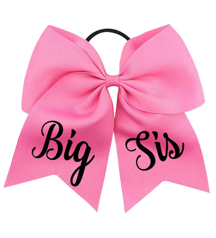 "Image of Large ""Big Sis"" Bow - Personalized Babies"