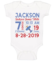 Birth Announcement Onesie - Airplane