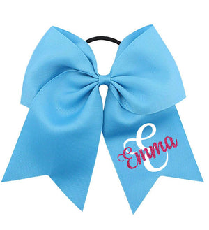 Large Bow with Name & Initial - Personalized Babies