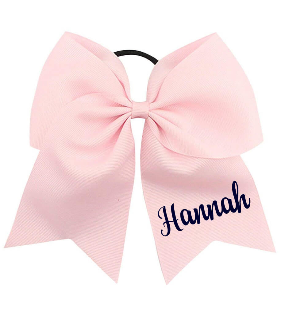 Large Bow with Name - Personalized Babies