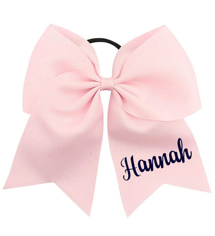 Image of Large Bow with Name - Personalized Babies