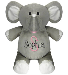 Elephant with Name & Initial - Personalized Babies