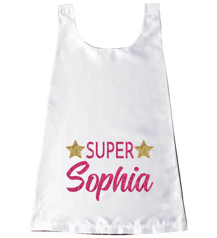 "Image of ""Super"" Girl Cape - Personalized Babies"