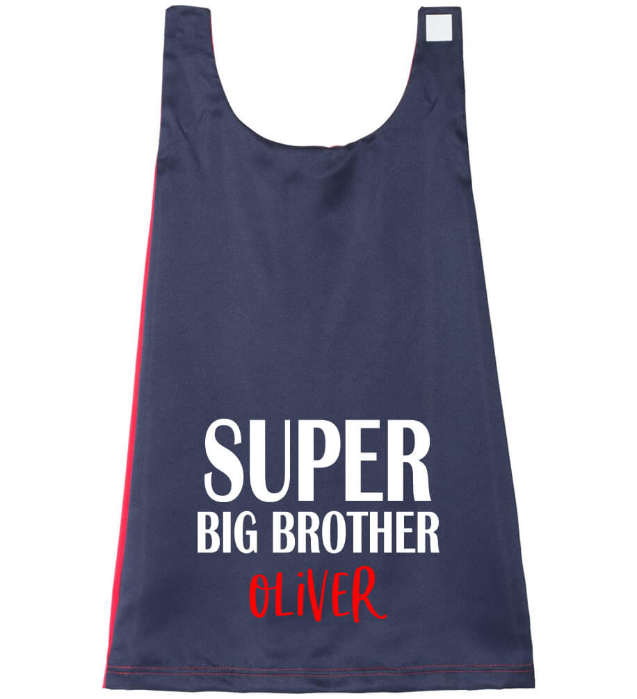 Super Big Brother Cape - Personalized Babies