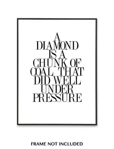 """A DIAMOND..."" QUOTE"