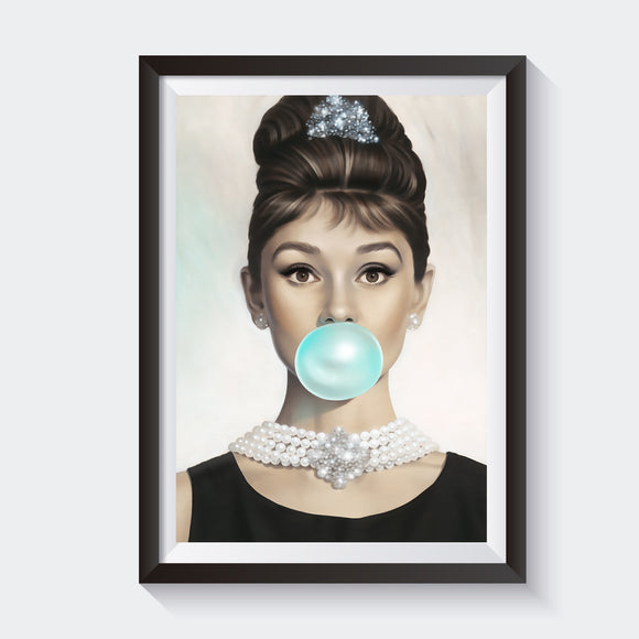 BREAKFAST @ TIFFANY'S- BLUE BUBBLE