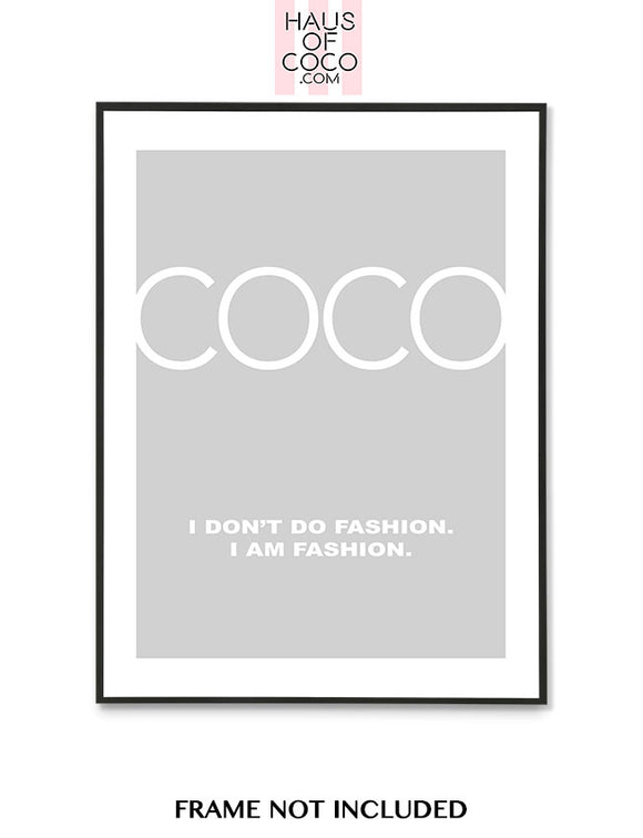 COCO FASION - GREY/WHITE