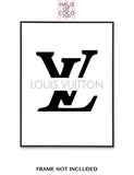 LV LOGO THRU GREY
