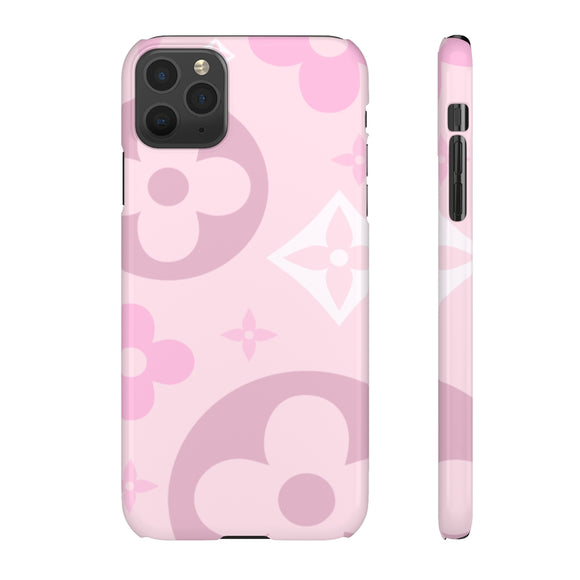 PINK SHADES FLOWER - SLIM PHONE CASE