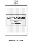 YSL STRIPE LOGO SET/3