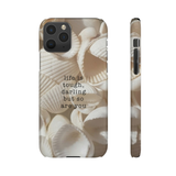 DARLING - SEASHELLS  PHONE CASE