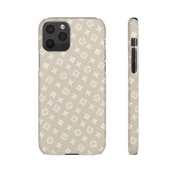 TINY BEIGE FLOWERS -  PHONE CASE