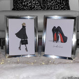 RED SOLES - SET OF 2