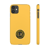 PERSONALISED -  INITIALS -  ROMA YELLOW PHONE CASE