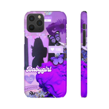 BABYGIRL - PURPLE AESTHETIC  PHONE CASE