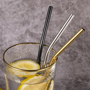 ECO STRAWS - GOLD/SILVER