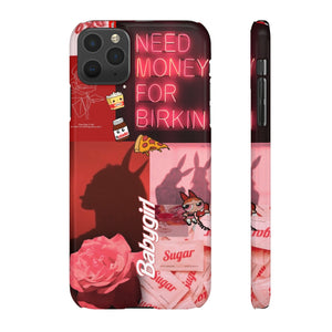 BABYGIRL - RED AESTHETIC  PHONE CASE