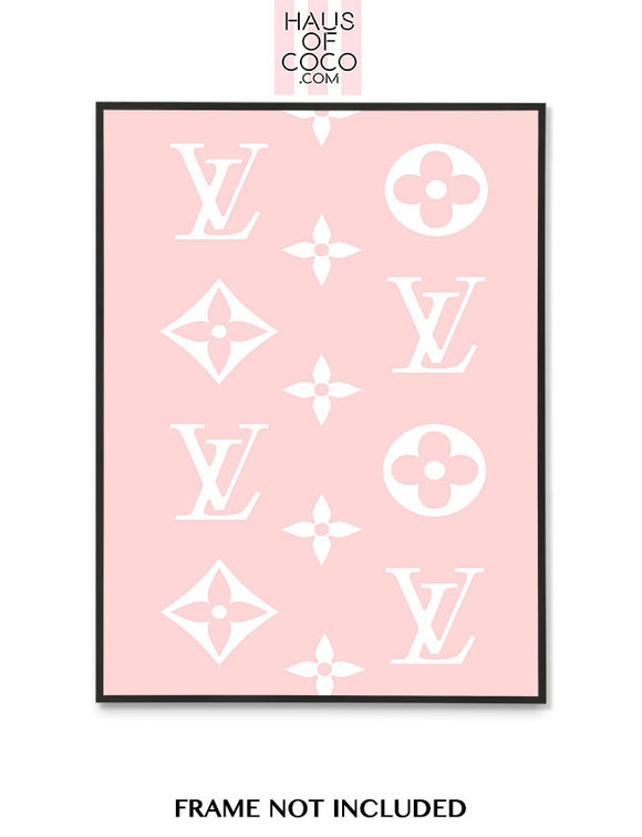 LV BLUSH PATTERN