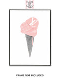 LV BLUSH ICE CREAM SET/3