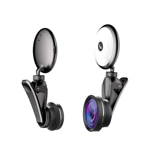 Selfie Light Mini Portable with Phone Lens