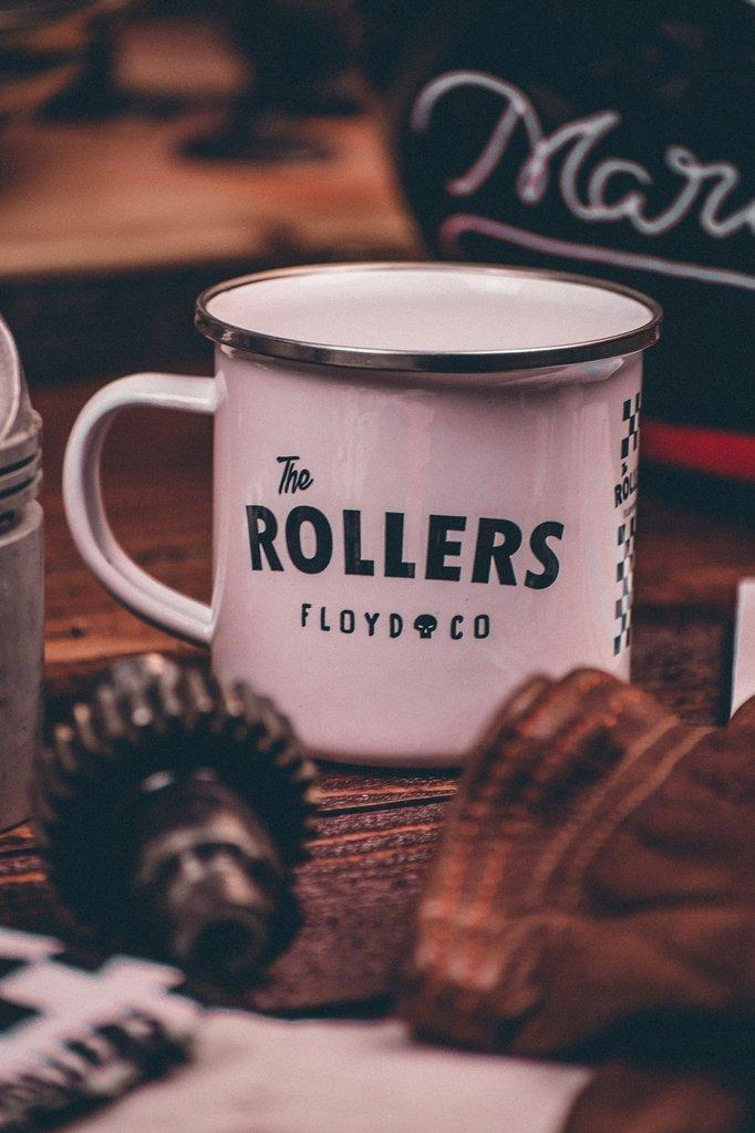 Enamel Mug // The Rollers
