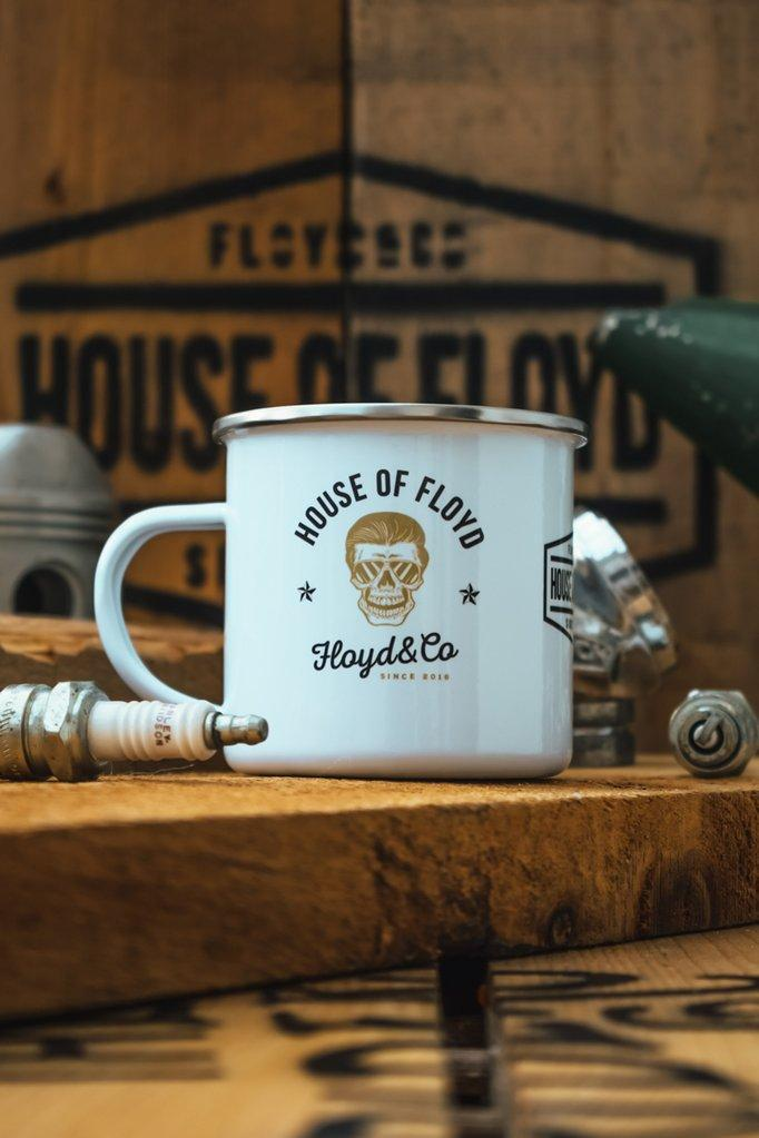 Enamel Mug // House Of Floyd