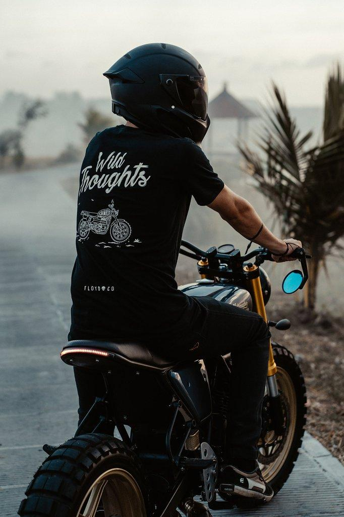 Wild Thoughts Tee - Floyd & Co - Cafe Racer Club