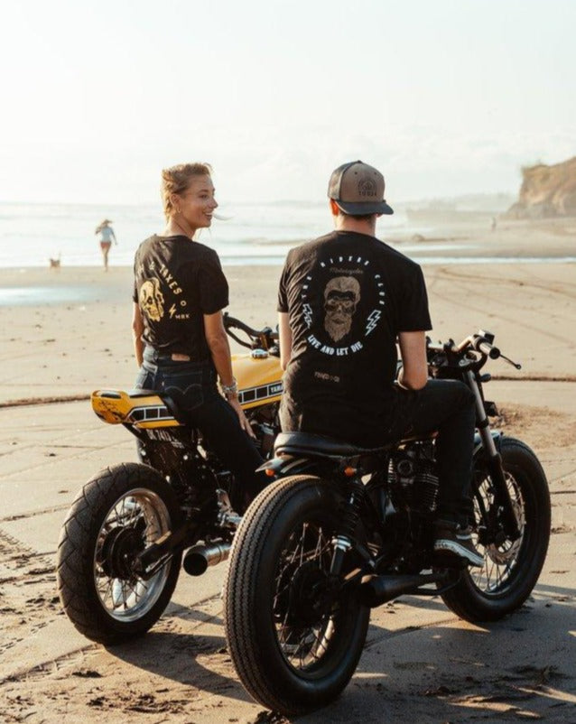 Riders Club Tee // Gold - Floyd & Co - Cafe Racer Club