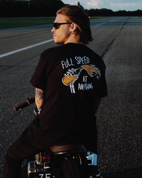 Full Speed Tee - Friends of the Fastlane - Cafe Racer Club