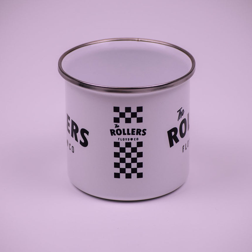 Enamel Mug // The Rollers - Floyd & Co - Cafe Racer Club
