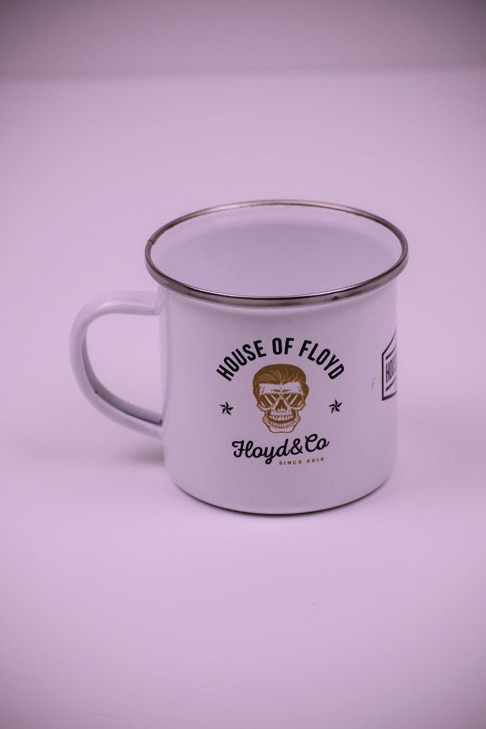 Enamel Mug // House Of Floyd - Floyd & Co - Cafe Racer Club