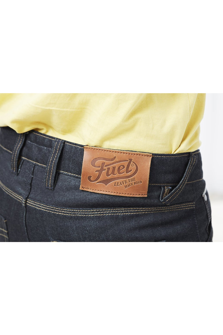 Fuel Greasy Jeans // Indigo