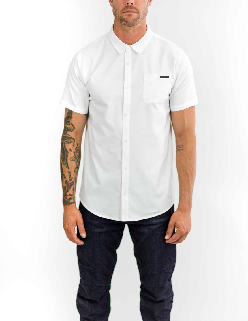 Tonic Riding Shirt // White