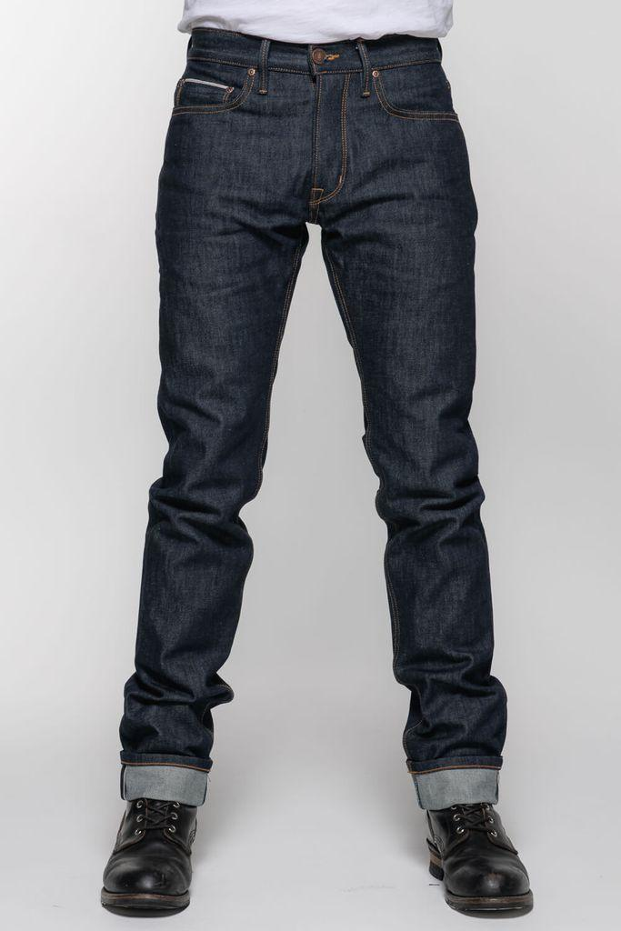 Selvedge Protective Riding Jeans // Indigo