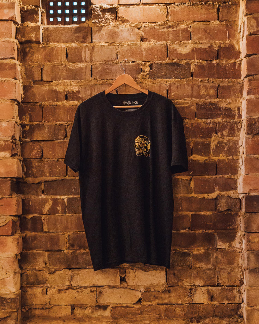 Riders Club Tee // Gold