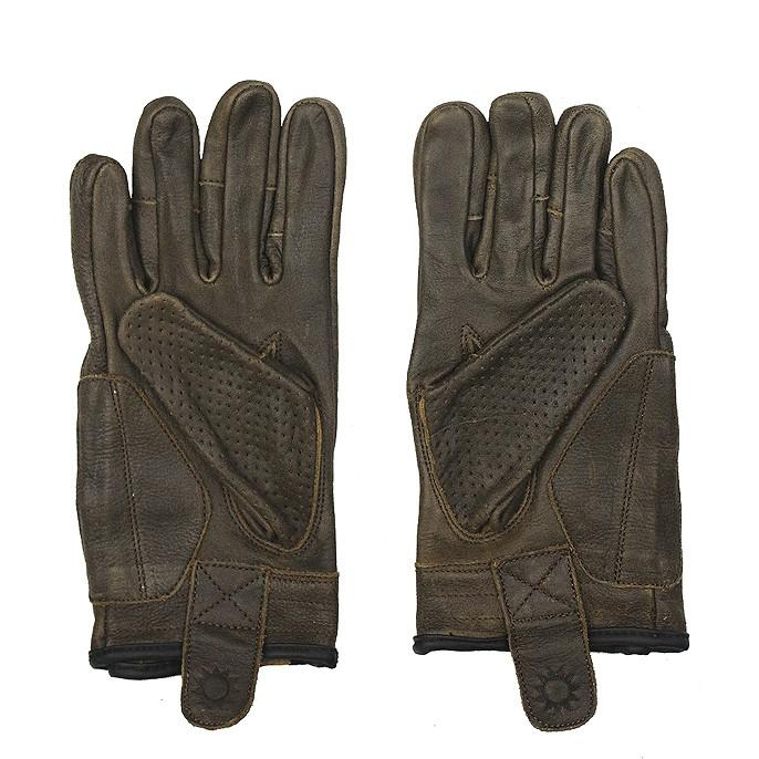 SOL Armoured Gloves // Brown