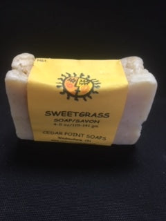 Handmade Soap, Sweetgrass