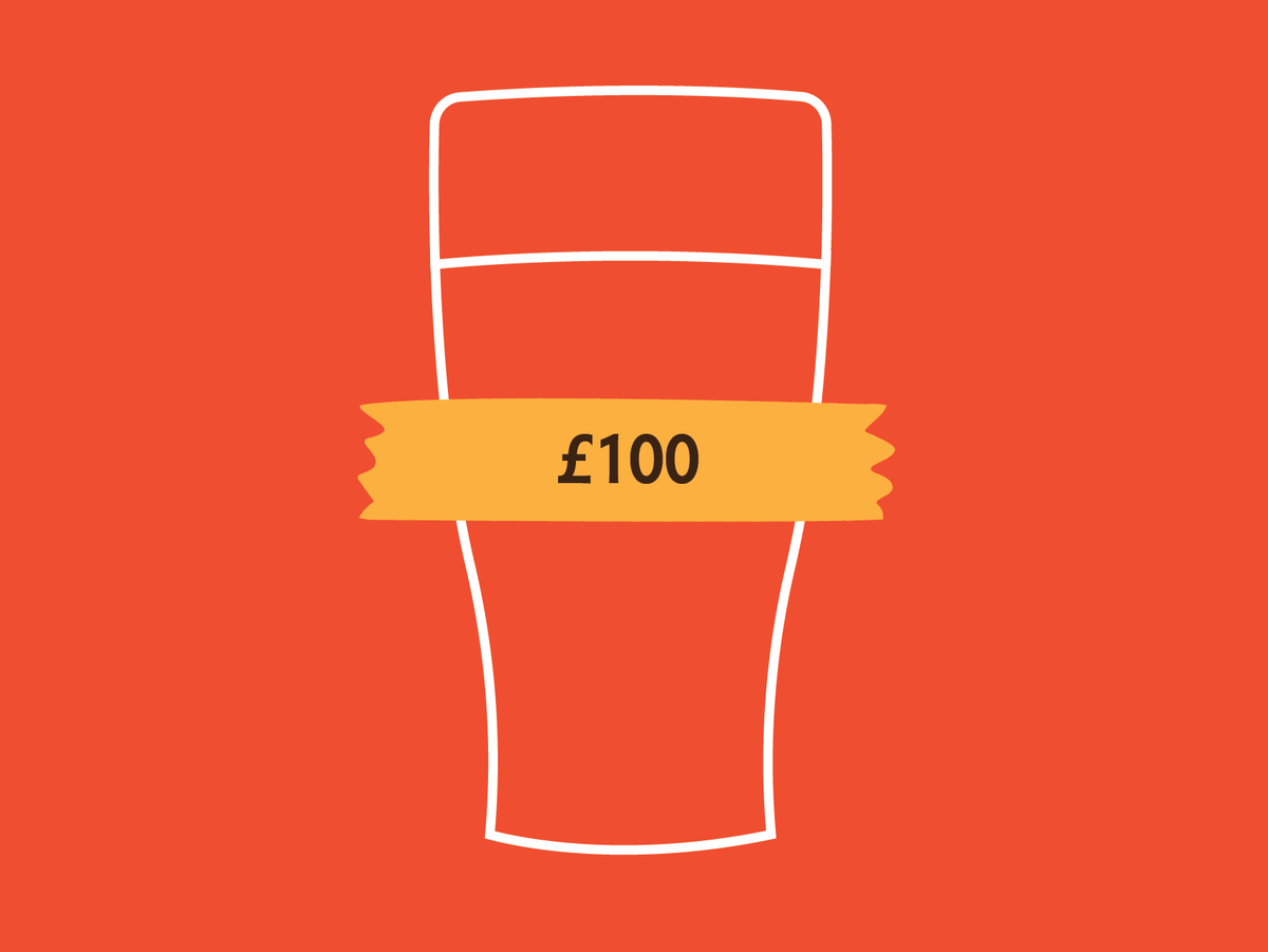 £100 Beer Me Now Gift Voucher