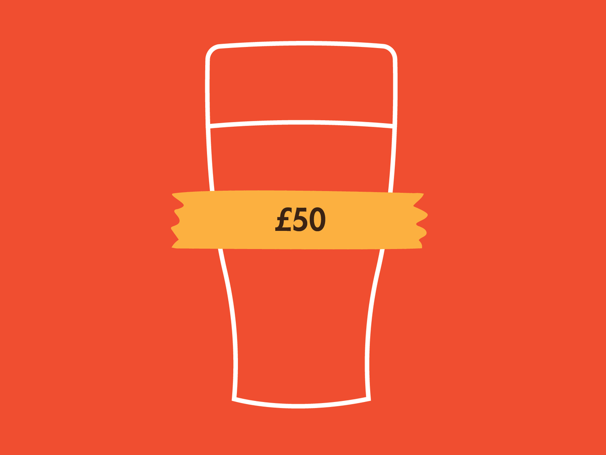 £50 Beer Me Now Gift Voucher