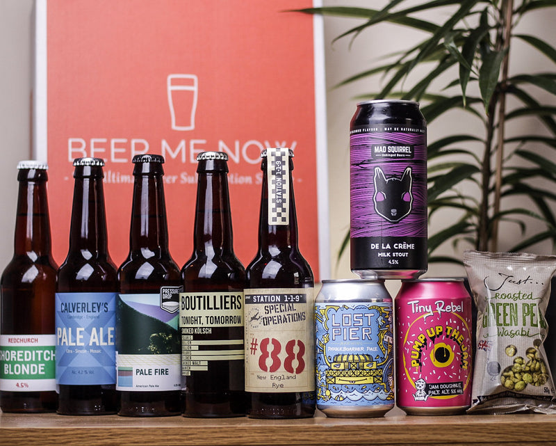 Beer Me Now - 8 Beer Subscription (Annual Quarterly Gift Subscription)