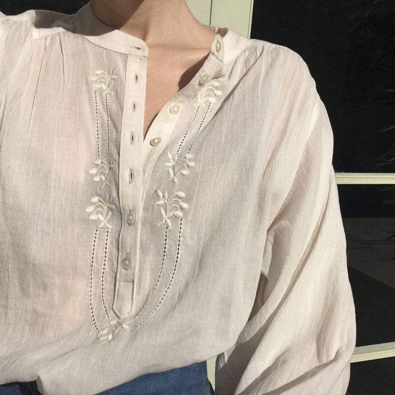 Embroidered Ines blouse