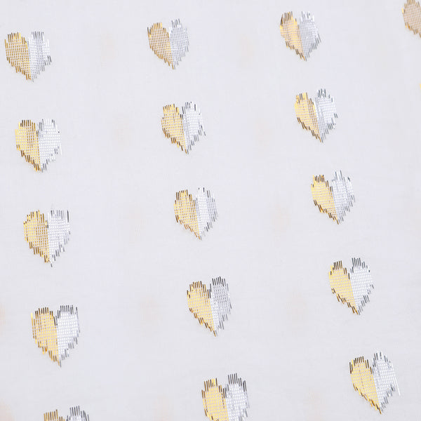 Ines Love Heart Lurex